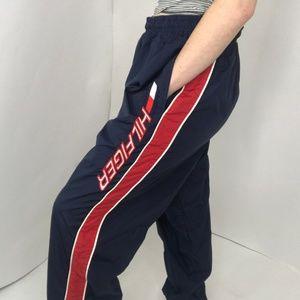 Tommy HIlfiger Athletics Nylon Track Pants Size L